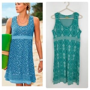 Athleta Teal Vyassa Dress